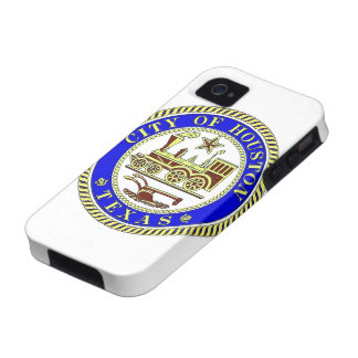 Seal of Houston Case For The iPhone 4