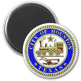 Seal of Houston Fridge Magnets