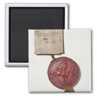 Seal of King Richard I Square Magnet