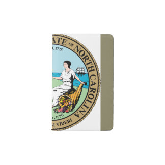 Seal_of_North_Carolina Pocket Moleskine Notebook