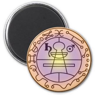 Seal of Solomon 6 Cm Round Magnet