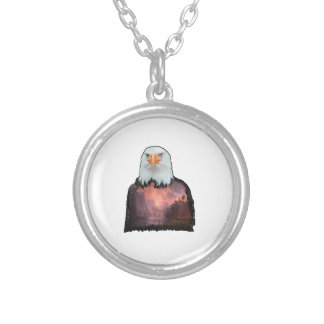 Seal of the Brave Silver Plated Necklace