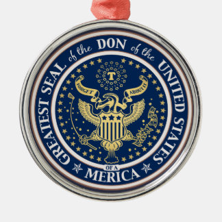 Seal of the Don Metal Ornament