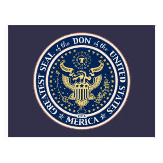 Seal of the Don Postcard