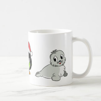 seal penguin mug