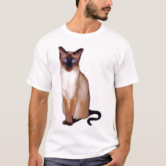 Seal Point Siamese Cat T-Shirt