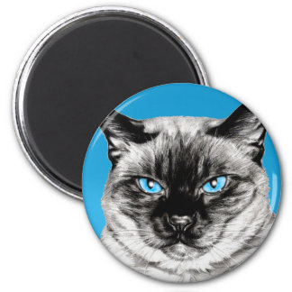 Seal Point Siamese Magnet