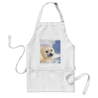 Seal Pup Face Adult Apron