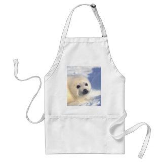Seal Pup Face Standard Apron