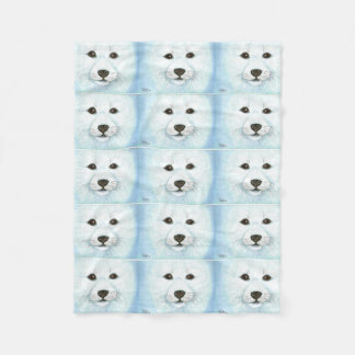 SEAL PUP FLEECE BLANKET