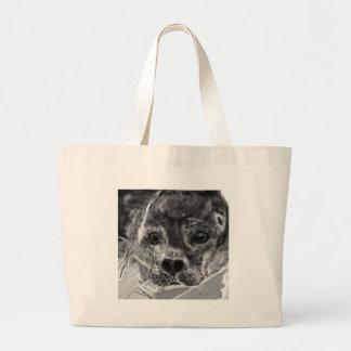 Seal Pup Large Tote Bag