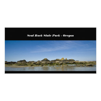 Seal Rock State Park - Oregon Picture Card