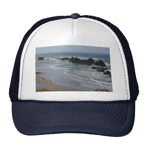 Seal Rocks, Oregon Mesh Hats