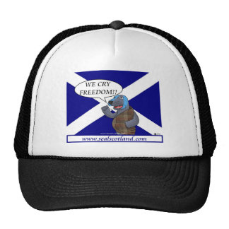SEAL SCOTLAND TRUCKER HAT