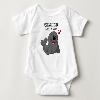 Sealed with a Kiss Baby Bodysuit
