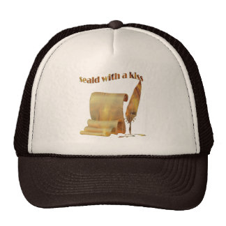 Sealed with a kiss - T-shirts design Mesh Hat