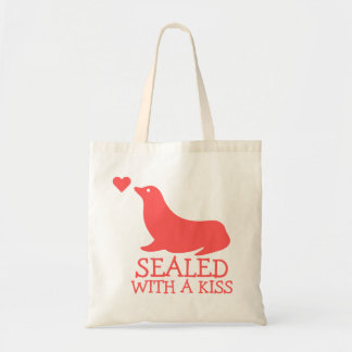 Sealed With a Kiss Tote Bag