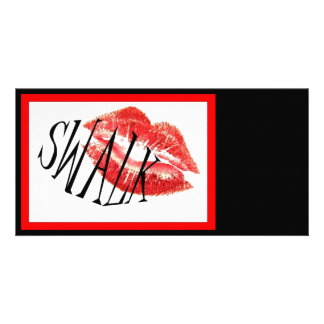 Sealed With A Loving Kiss Photo Card Template