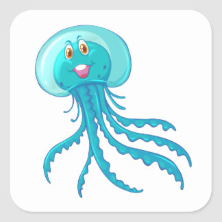 Sealife Animals/ Jellyfish Sticker