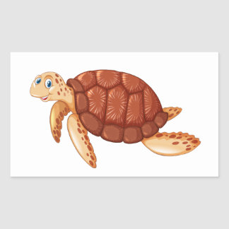Sealife animals/ turtle sticker