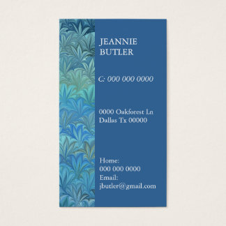 Sealife Business Card