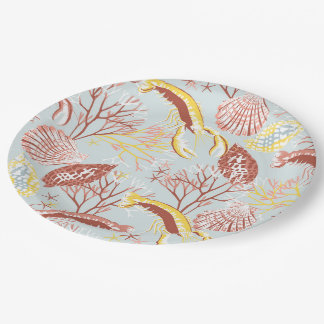 Sealife Paper Plate