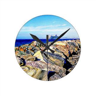 SeaLink Ferry Round Clock