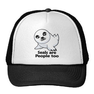 Seals are People too Hat