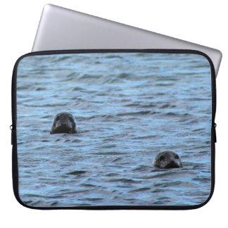 Seals in Orkney (Scotland) Laptop Sleeve