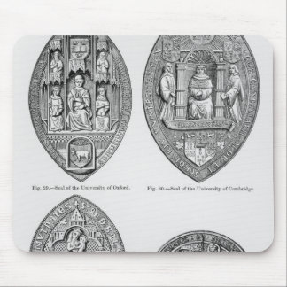 Seals of the Universities Mouse Pad