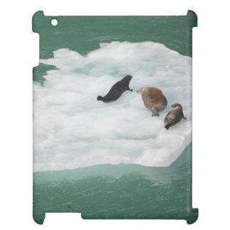 Seals on an Iceberg Ipad Case