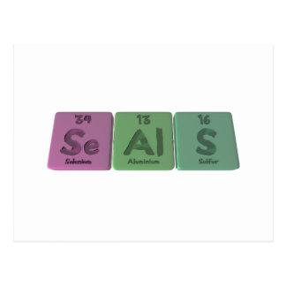 Seals-Se-Al-S-Selenium-Aluminium-Sulfur.png Post Card