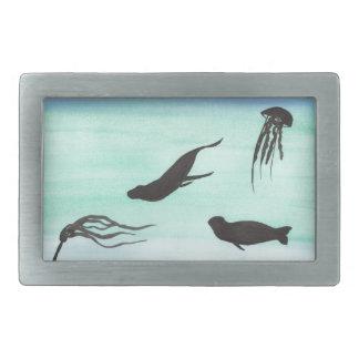 Seals Underwater Belt Buckle