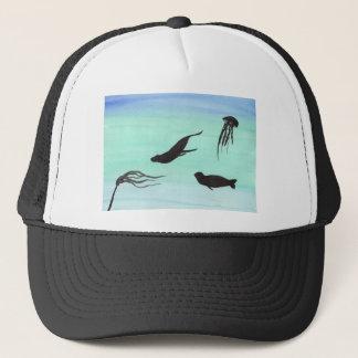 Seals Underwater Trucker Hat