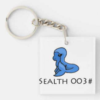 Sealth Single-Sided Square Acrylic Key Ring