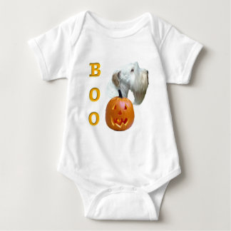 Sealyham Terrier Boo Baby Bodysuit