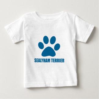 SEALYHAM TERRIER DOG DESIGNS BABY T-Shirt