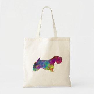 Sealyham Terrier in watercolor