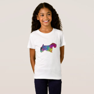 Sealyham Terrier in watercolor T-Shirt