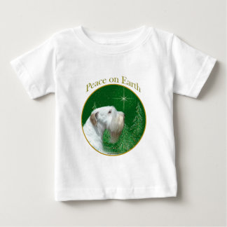 Sealyham Terrier Peace on Earth Baby T-Shirt
