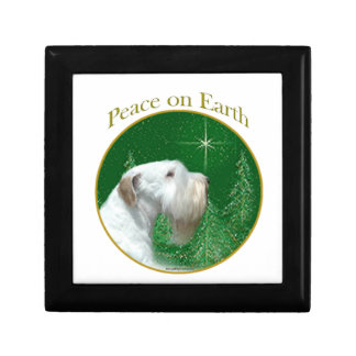 Sealyham Terrier Peace on Earth Gift Box
