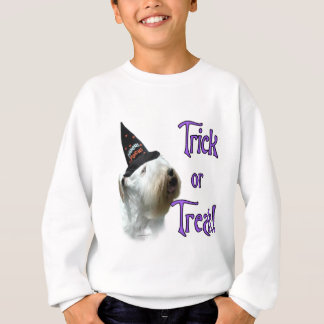 Sealyham Terrier Trick or Treat Sweatshirt