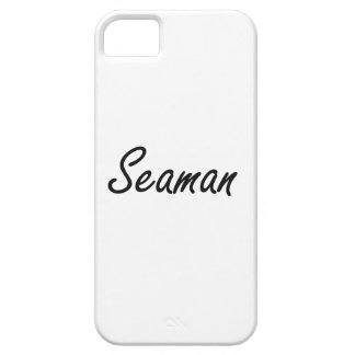 Seaman Artistic Job Design iPhone 5 Case