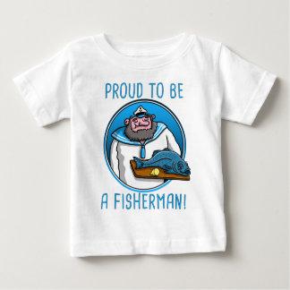 seaman captain serving A fish Baby T-Shirt