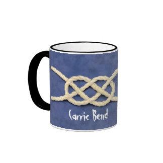 Seamen's Knots Ringer Coffee Mug