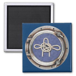 Seamen's Knots Square Magnet