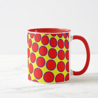 Seamless bright background. Decorative geometric Mug