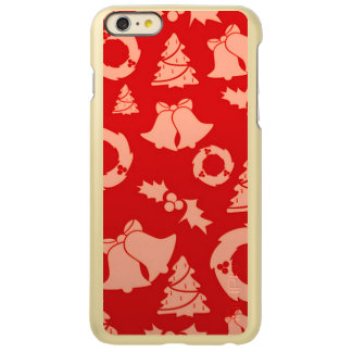 Seamless Christmas Pattern red Incipio Feather® Shine iPhone 6 Plus Case