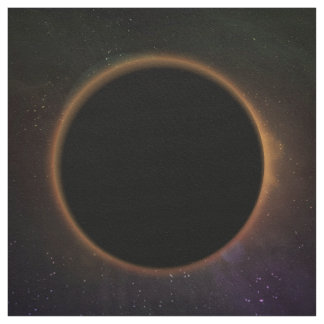 Seamless Eclipse Cosmos Design Fabric