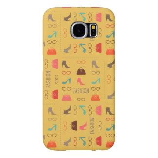 Seamless Fashion Pattern Samsung 6 Case Samsung Galaxy S6 Cases